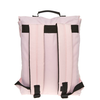 Pink clip top backpack